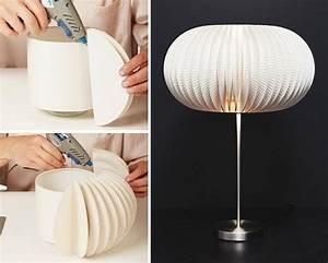 Ikea Stehlampe Schirm : lampenschirm basteln 55 attraktive anleitungen und ideen ~ Watch28wear.com Haus und Dekorationen