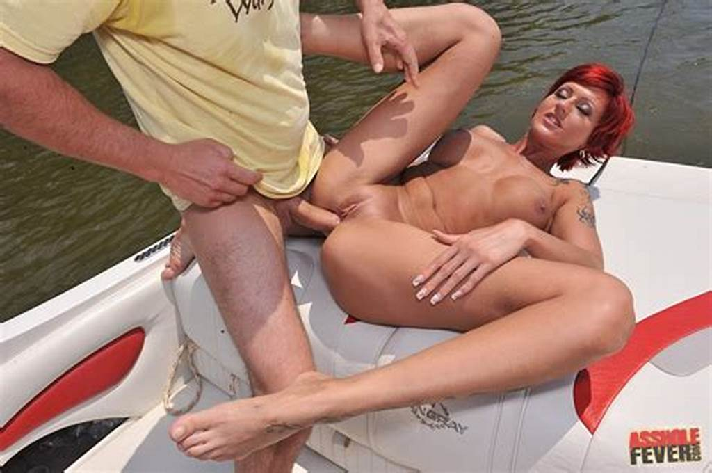 #Hot #Redhead #Patricia #Gold #Getting #Anal #Fucked #On #Boat