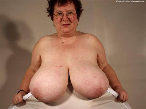 My Fat Grandma Shows Her Gent Breasty