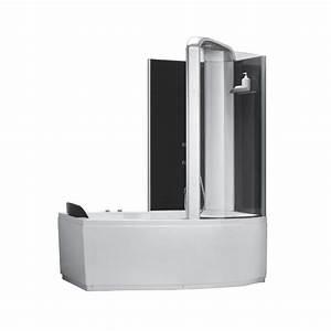 Baignoire Douche Dimension : combin douche baignoire alexie 170cm or9501sm ~ Premium-room.com Idées de Décoration