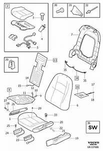 30767446 - Sensor  Ows  Passenger Seat  Seat Padding Panels  Without Seat Ventilation