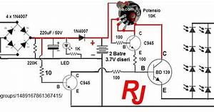 Wiring Diagram Lampu Emergency