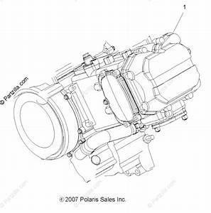 Polaris Atv 2012 Oem Parts Diagram For Engine  Short Block