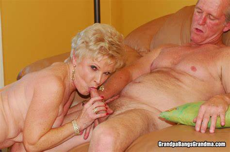 Gent Shaved Granny And Her Student Guy