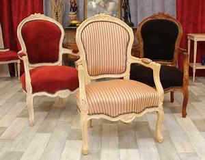 Fauteuil De Style : fabricant meubles et style chaises m daillon fauteuils cabriolet louis xv ~ Teatrodelosmanantiales.com Idées de Décoration