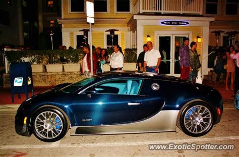 Don't see the car you want. Bugatti Veyron spotted in Miami, Florida on 02/17/2013