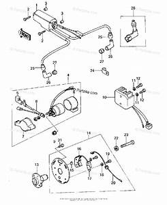 Kawasaki Motorcycle 1978 Oem Parts Diagram For Ignition