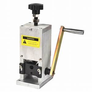 Aluminum Allory Manual Wire Stripping Machine Copper Cable