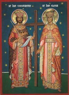 Sfinții constantin și elena sunt prăznuiți vineri, 21 mai, în calendarul ortodox. Icoane Ortodoxe Frumoase: Sf.Imparati Constantin si Elena (21 mai)