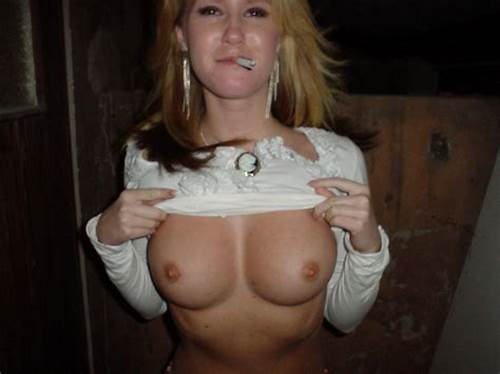 Beautiful Chick Showing Her Boobs On The Restroom #Smoking #Blonde #Shows #Her #Perfect #Big #Boobs