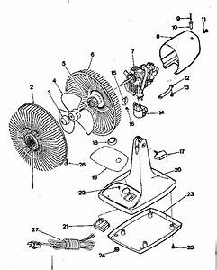 Kenmore 453800000 Household Fan Parts