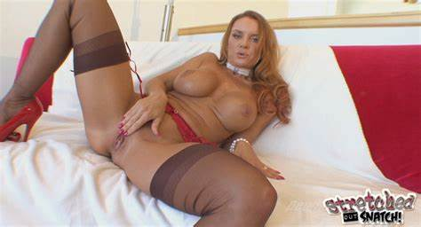 Spunky Red Hair Milf Anal Masturbating And Puss Drilling