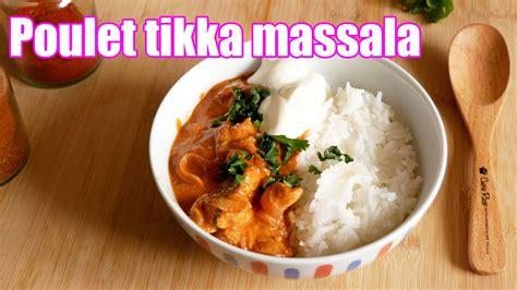 La recette du poulet tikka masala est une recette d'origine indienne assez légère et bien épicée. Poulet tikka massala - YouTube