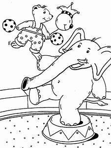 Kinder Spielen Zirkus : kostenlose malvorlage rund ums spielen b r und elefant im ~ Lizthompson.info Haus und Dekorationen