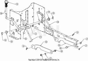 Troy Bilt 13wv78ks011 Bronco  2016  Parts Diagram For Deck