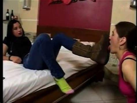 Lesbian Black Socks Worship