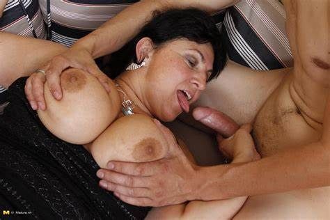 Granny Slut Bukkake Threesome Immense Nipple Mama Boned Solo Guys At Once