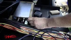 Final Wiring To A Trunk Control Tray For Led Police Lights