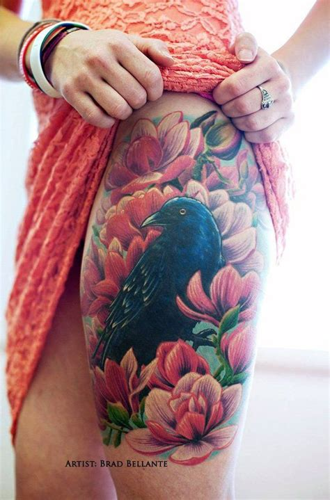 Tatuajes de cuervos : poderes y simbolismo Belagoria