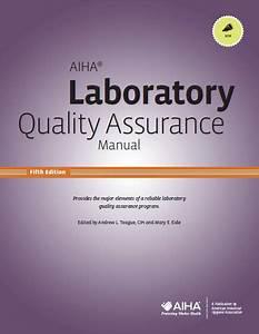 Aiha U00ae Laboratory Quality Assurance Manual  5th Edition
