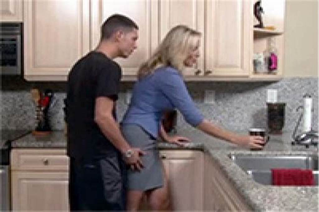 #Good #Looking #Mom #Gets #Cornered #And #Fucked #In #The #Kitchen