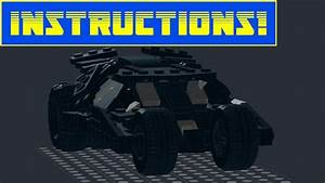 Custom Lego Tumbler And Bat Signal Moc Instructions