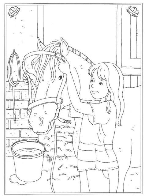 Top 25 leukste prinsessen kleurplaten voor kinderen. Kids-n-fun | 24 Kleurplaten van Op de manege | Horse ...