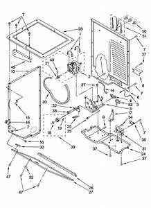 Whirlpool Lte6234dq6 Laundry Center Parts