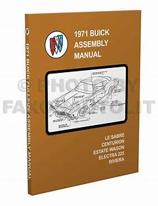 1971 Buick Repair Shop Manual Original Gs  Skylark  Riviera