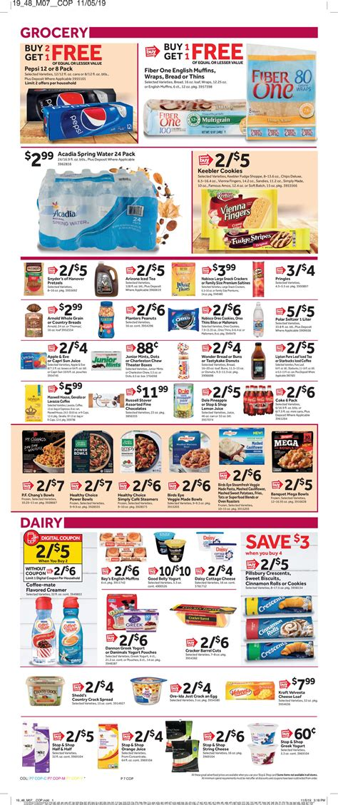 Prices and details may vary, so confirm everything with. Stop and Shop - Thanksgiving Ad 2019 Current weekly ad 11/22 - 11/28/2019 15 - frequent-ads.com