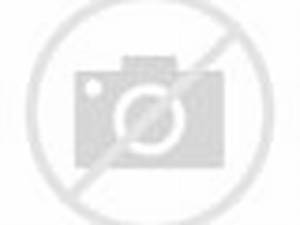 Trish and The Rock backstage