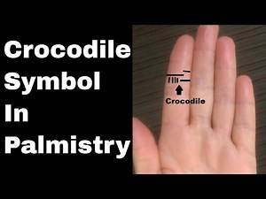 Indian Palmistry Symbols: The Crocodile Sign and Happiness